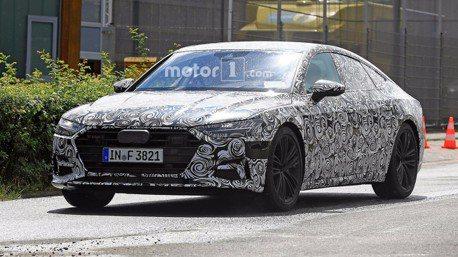 捕獲偽裝照 2018年式Audi A7 預計今年第四季發表