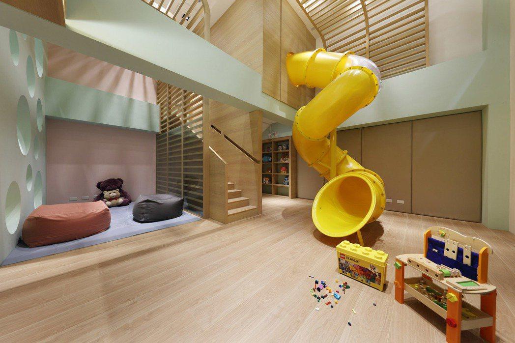 兒童遊戲室。 圖片提供/華友聯開發