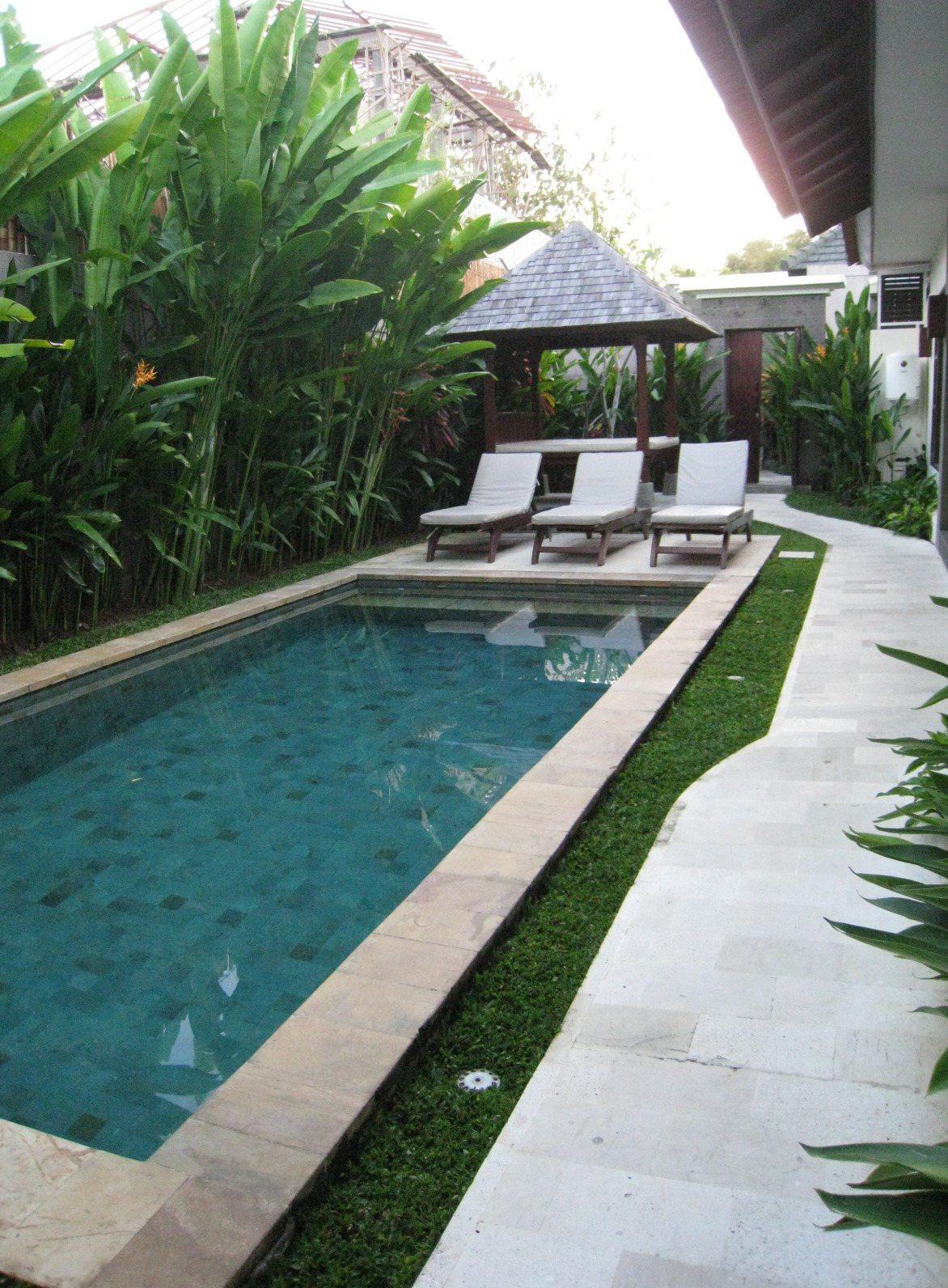 領隊有機會可以在帶團時,住到獨棟Villa,還可以有獨立泳池。記者張雅婷/攝影