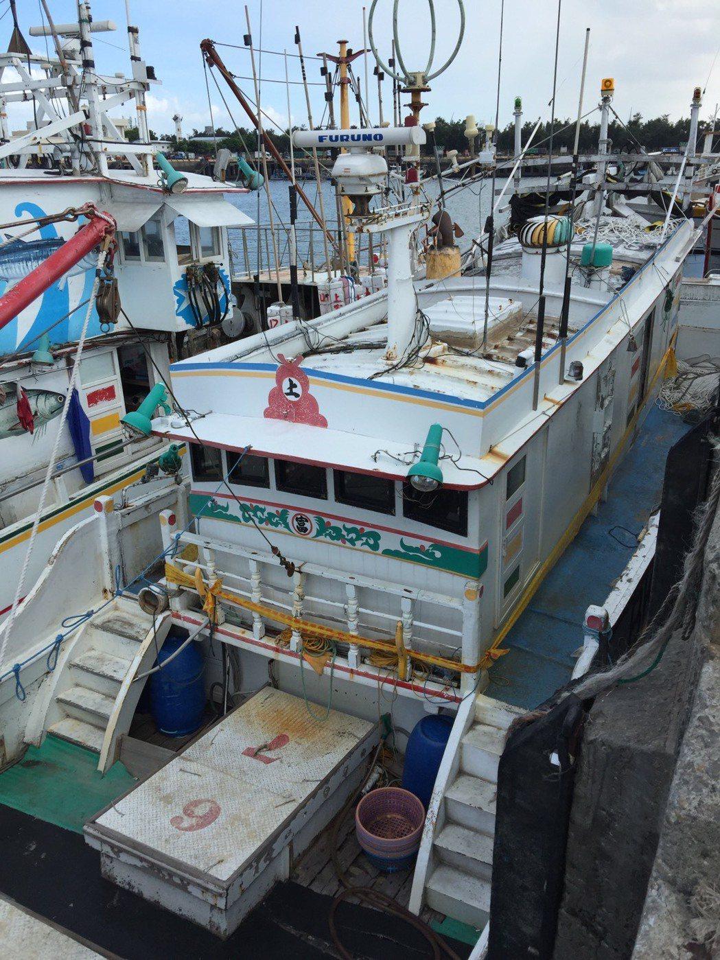 涉運毒的上富123號今天將在台中市清水區海岸資源漁業發展所拍賣,起標價為12.3...