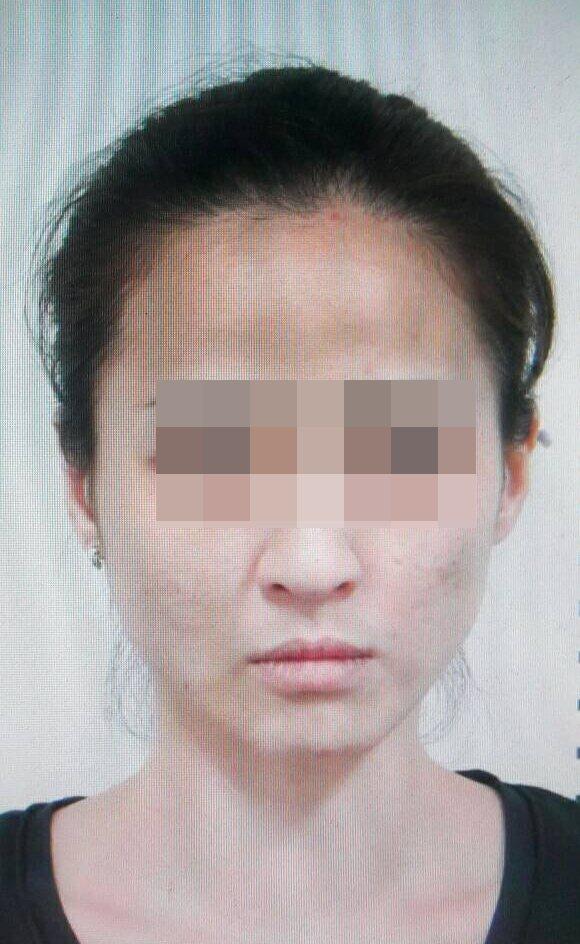 警方認為嚴女看起來比實際年齡蒼老,感嘆毒品的危害大。記者林伯驊/翻攝