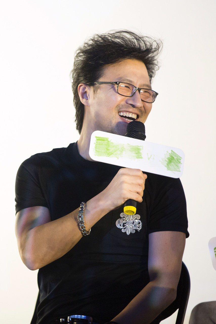 汪鋒個人音樂紀錄電影「存在」昨天於北京舉辦首映會。圖/摘自搜狐