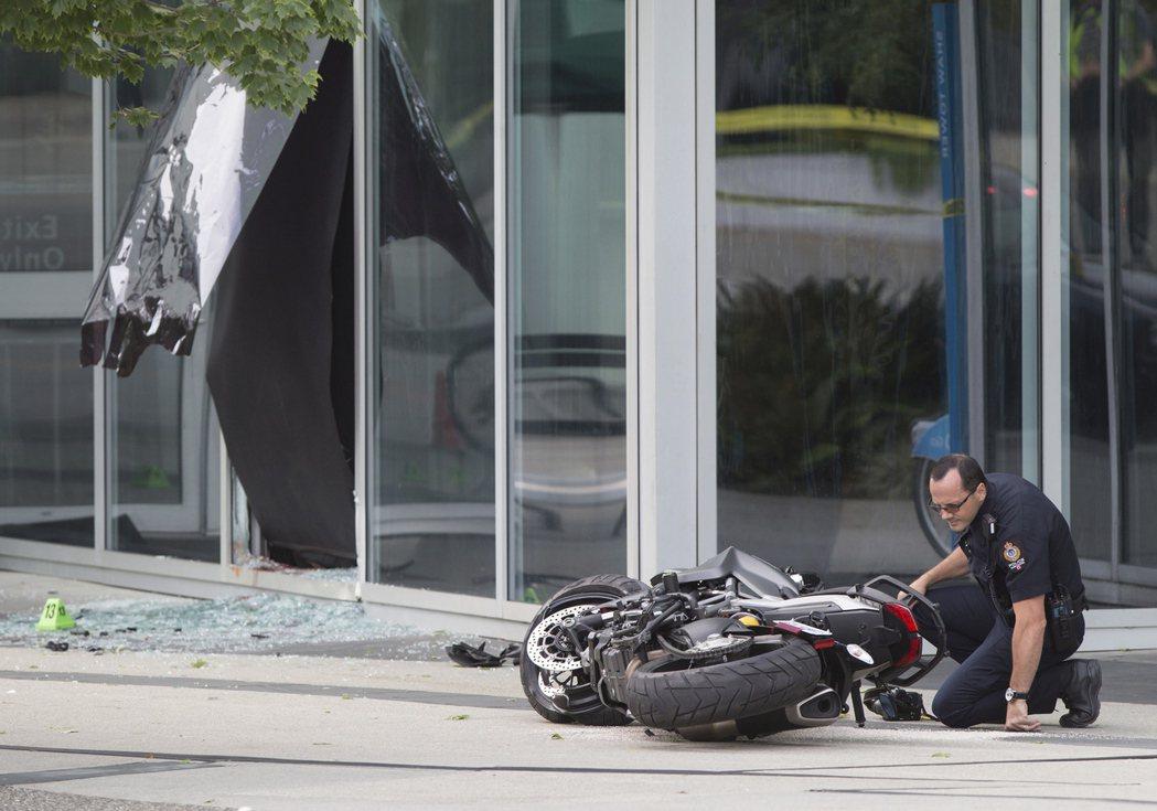 「死侍2」女主角薩奇碧茲的替身在片場發生意外身亡。 圖/美聯社