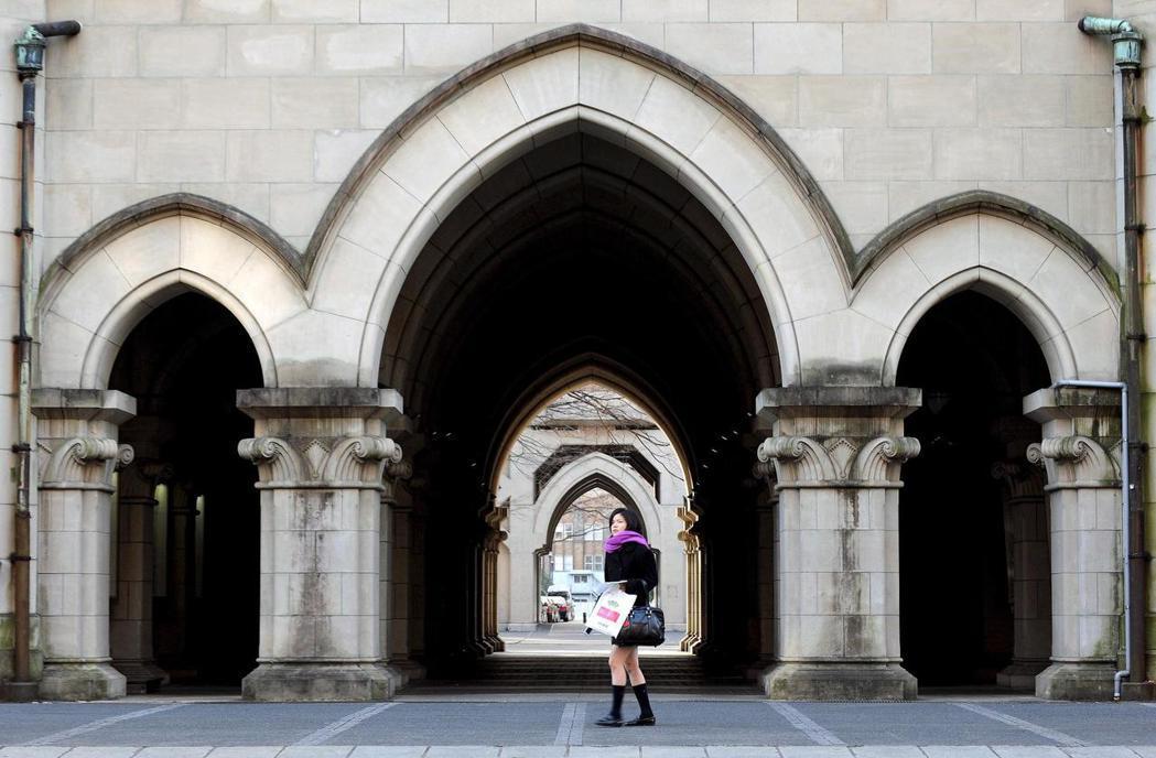 日本各大學預算也被迫刪減。圖為東京大學校園。 (歐新社)