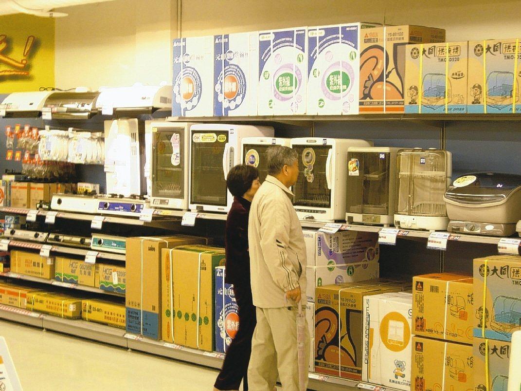 家電業者暑假期間經常促銷家電和家具,買屋或換房民眾可趁機預作採買。 圖/報系資料...