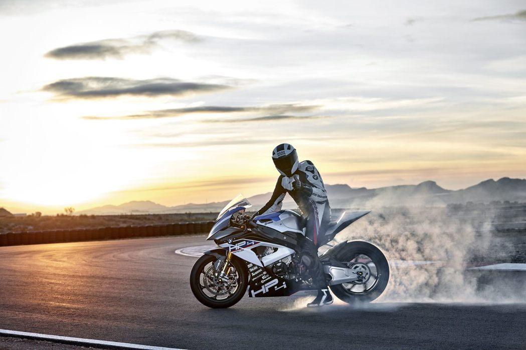 BMW Motorrad HP4 Race。圖/BMW Motorrad提供