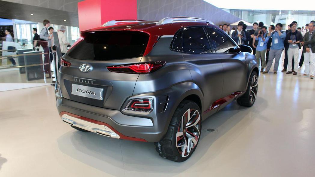 圖為Hyundai Kona 鋼鐵人特別版。 摘自Motor 1