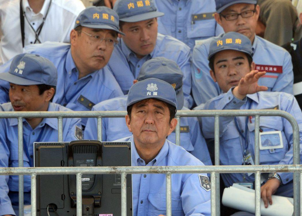 內閣府的中央防災會議,是日本最高災害管理單位。 圖/法新社