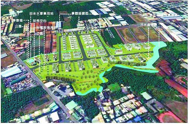 太平產業園區動土,預計明年中完工。