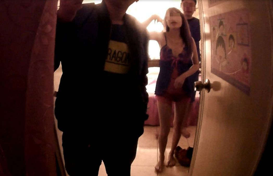 警方查獲的旅館色情交易案,旅館也是捉姦常見地點。 圖/警方提供