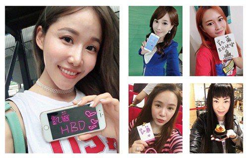 ▶(由左至右上至下)閩思雅、東森財經新聞台主播 劉涵竹、陳侑伶、Miss Cia...