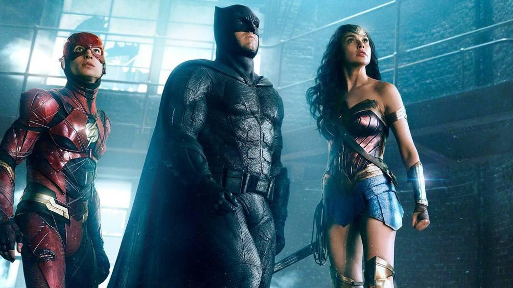 「正義聯盟」是下半年眾所矚目的娛樂大片。圖/華納兄弟影業提供