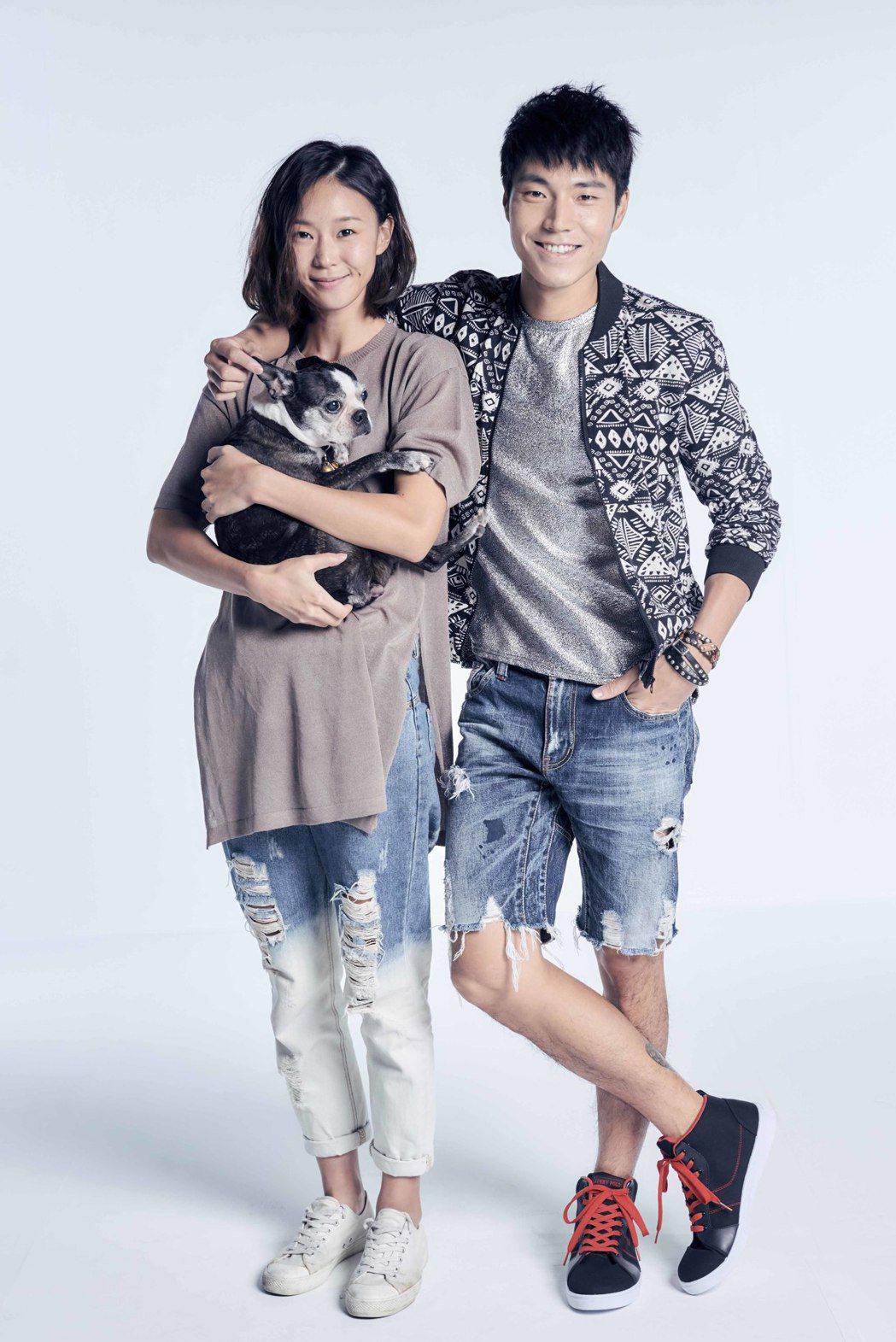 鍾瑤與唐振剛在「天使薇薇」中合作。圖/緯來電影台提供