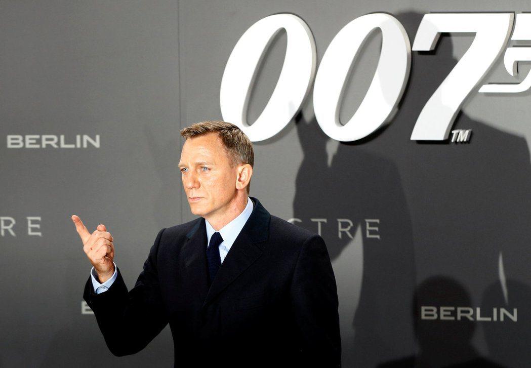 丹尼爾克雷格(圖)親口認了還會再演007。 圖/路透