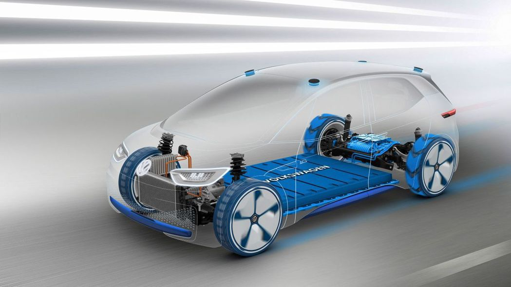 ŠKODA首款電動Coupe-SUV將會搭載MEB電動模組化底盤(Modular...