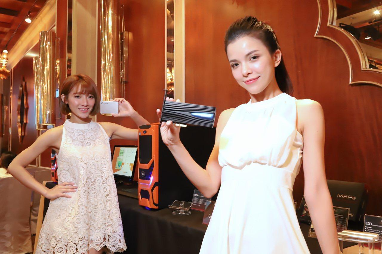 捷元即日獨家代理光寶SSD,再加上原有代理品牌,將成為台灣SSD最大通路。 彭子...