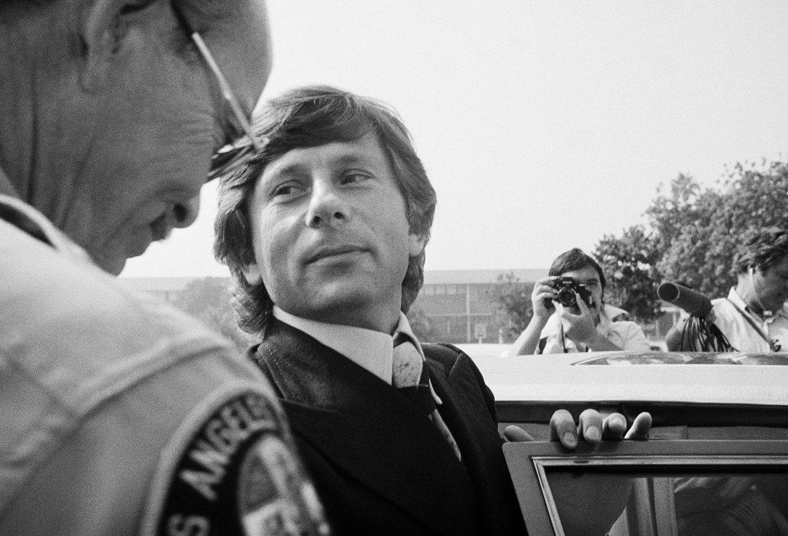 1977年10月在加州出庭的波蘭斯基。 圖/路透社