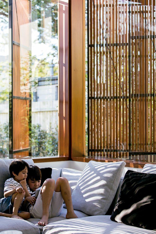 寬敞的家庭空間拉近家人之間的距離。