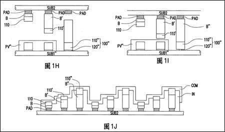 圖2. 專利TW I521690之圖H-J (圖片來源: TIPO)
