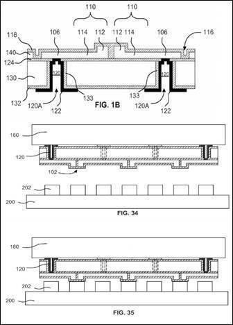 圖5. US 9548233的Figs. 1B, 34, 35 (圖片來源: ...