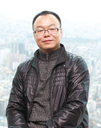 《海西晨報》社長、總編輯黃毓斌。