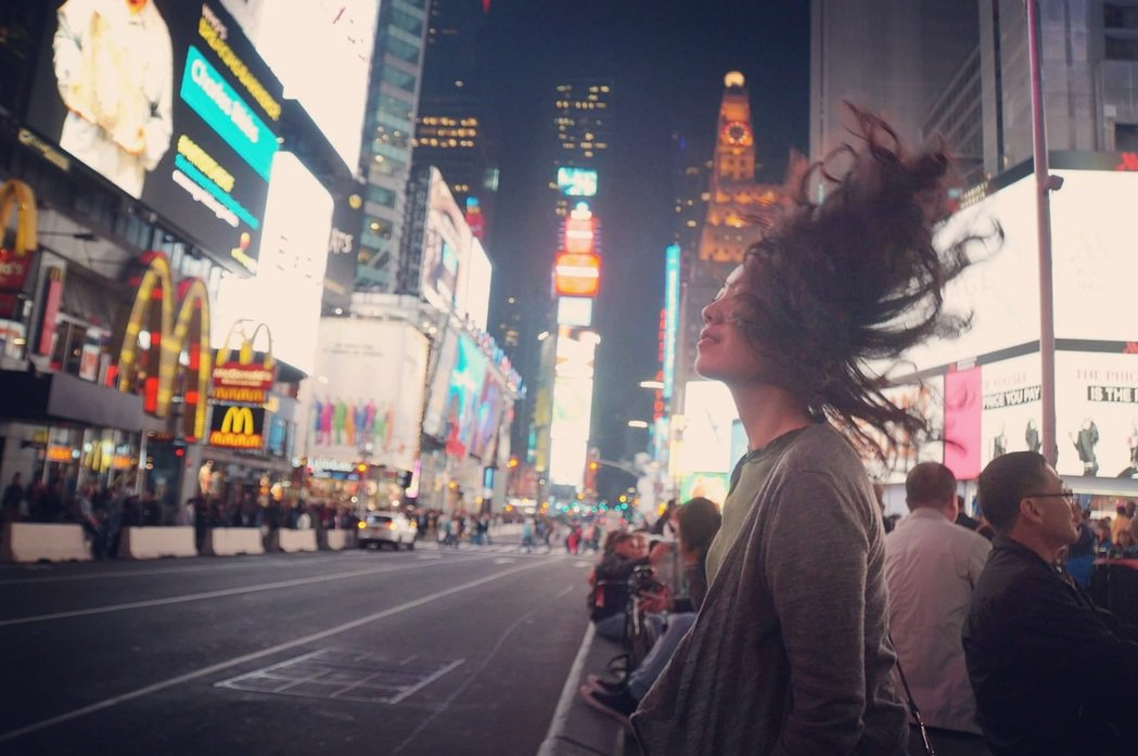 音樂劇女孩在紐約。 圖/王子萱提供