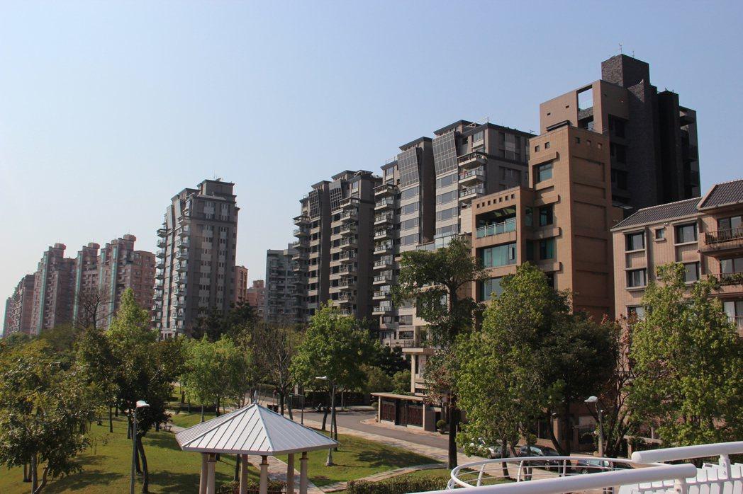 大直水岸第一排。圖/台灣房屋提供