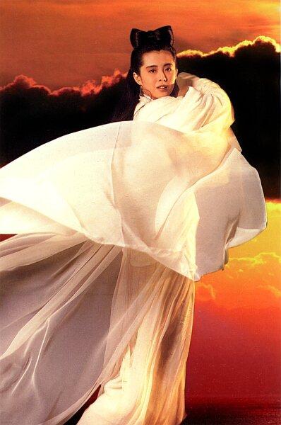 王祖賢以「倩女幽魂」成為銀幕最淒美女鬼化身。圖/摘自HKMDB