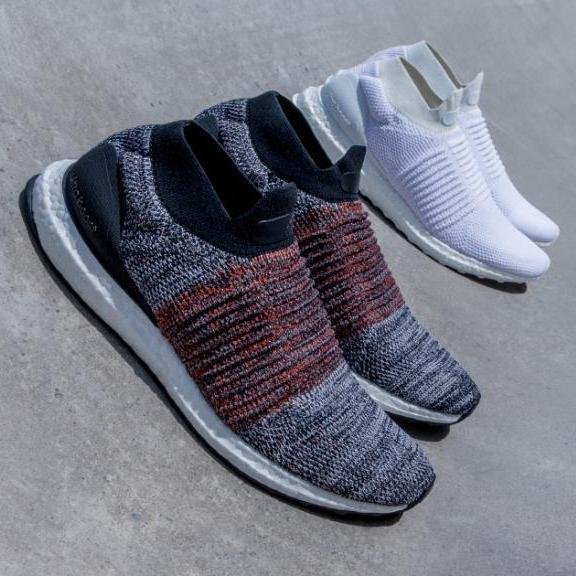 adidas推出首款無鞋帶跑鞋UltraBOOST Laceless。圖/adi...