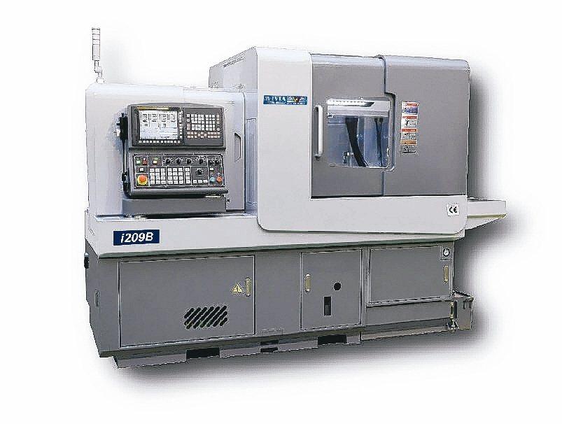 威亞i系列堪稱走心式電腦車床小鋼砲。 威亞公司/提供