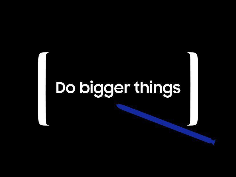 三星Galaxy Note 8下周登場,可從宣傳視覺中看出新螢幕設計。 取自三星...