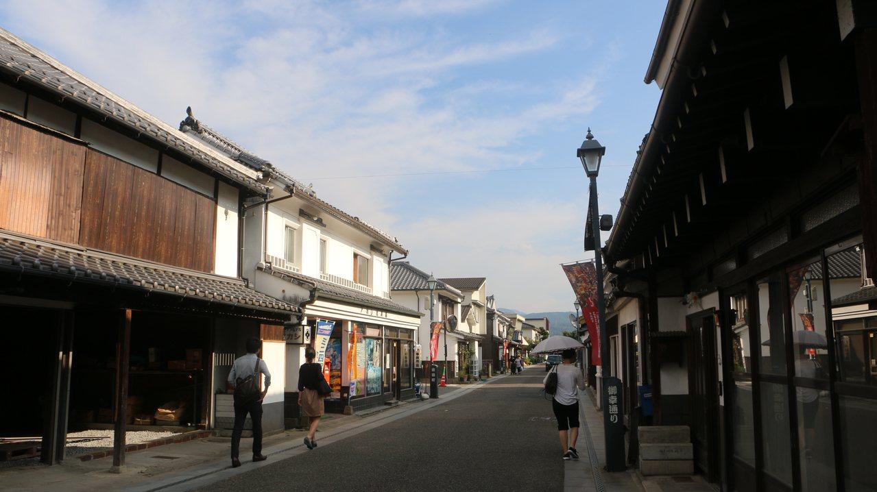 豆田町至今仍保留著江戶時代街道。