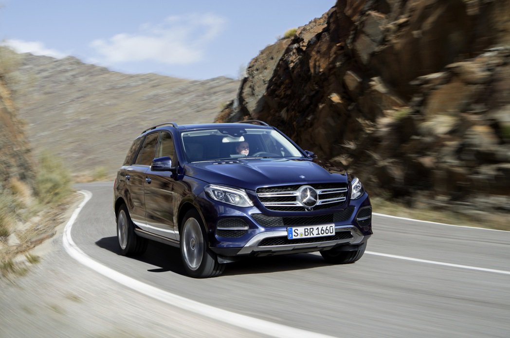 Mercedes-Benz GLE。圖/摘自Mercedes-Benz