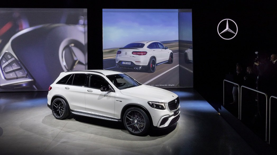 Mercedes-AMG GLC 63 4MATIC+。圖/摘自Mercedes...