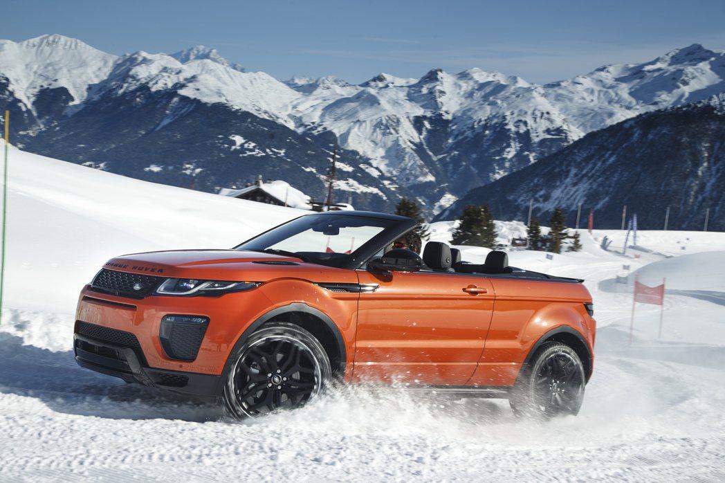 Range Rover Evoque Convertible。圖/摘自Range Rover
