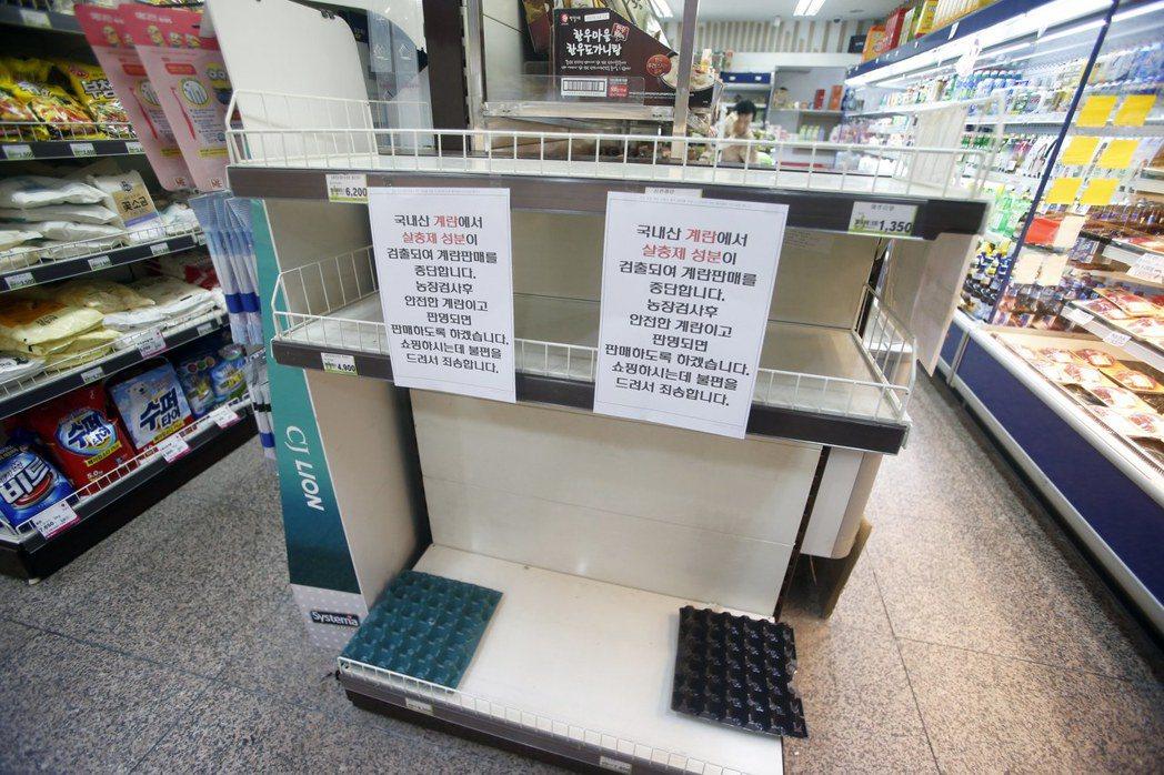 毒雞蛋問題一出,南韓農林畜產食品部便強制中止農家的雞蛋出貨,各商店也停止販售。...
