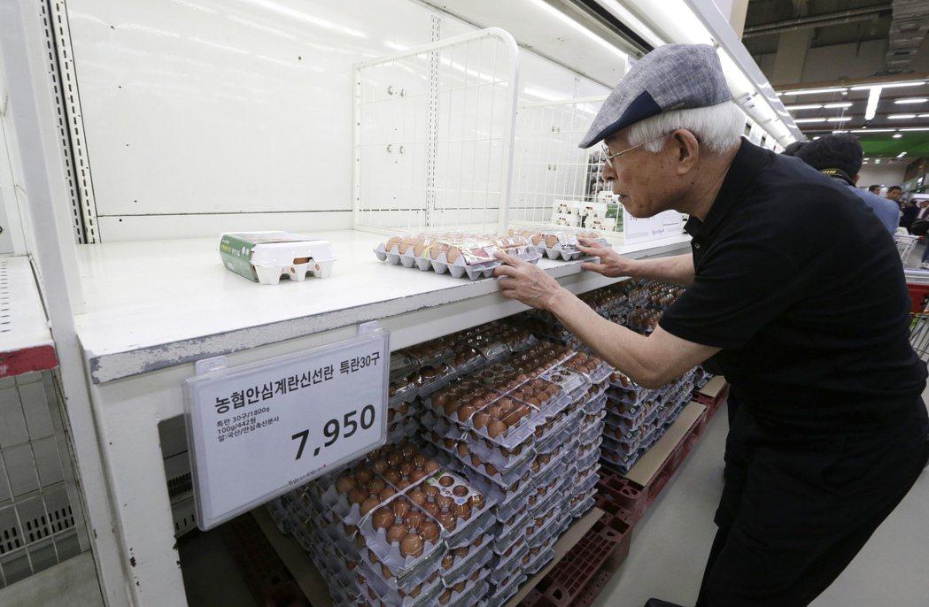 「毒雞蛋」風波,從歐洲一路吹向南韓。 圖/美聯社