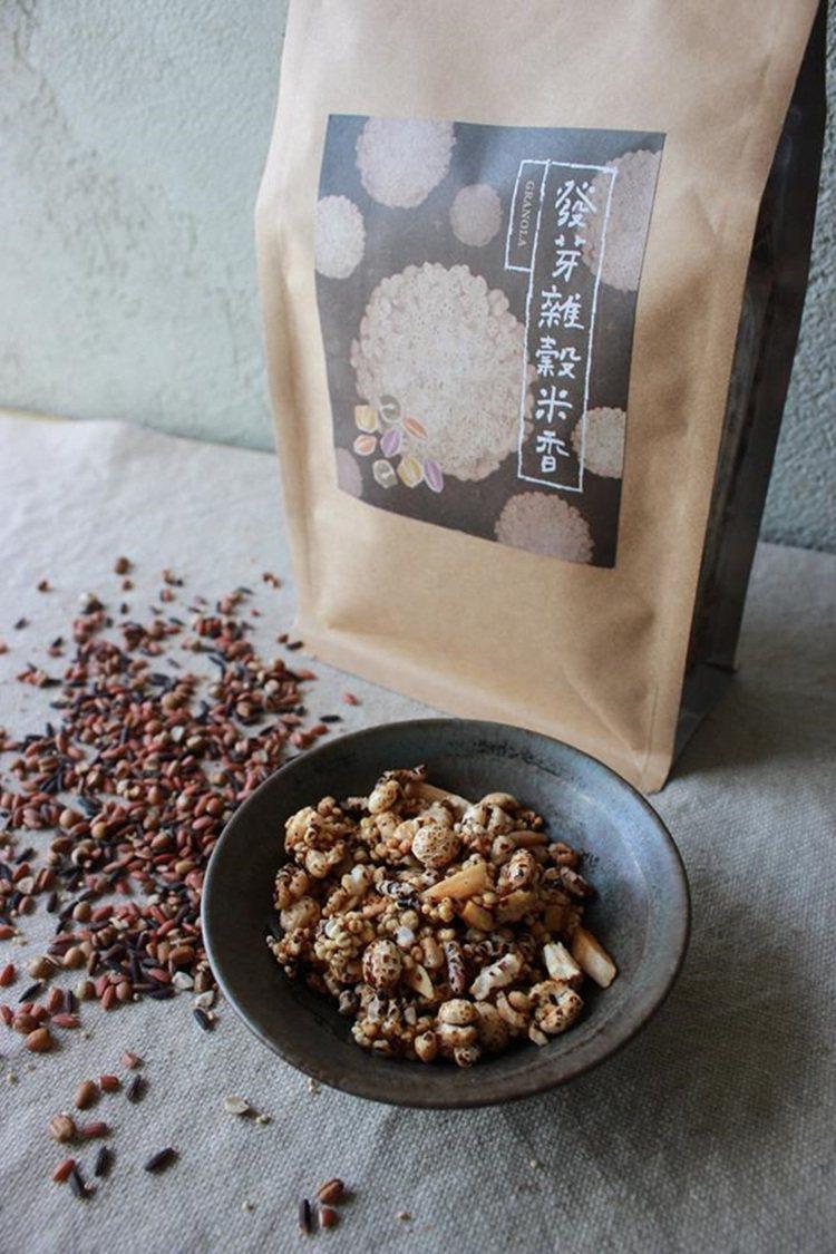 紅米一路變身成了雜穀米香,好吃讓它成為熱銷品。圖/顧瑋提供