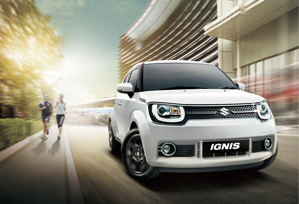 潮流都會休旅 Ignis 搭載 1.2升 DUALJET 低油耗引擎,並擁有靈活多變的收納空間 Taiwan Suzuki 提供