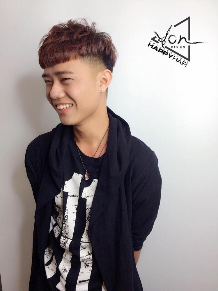 髮型創作/Happyhair師大店 - Von 。圖/HairMap美髮地圖提供