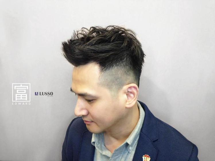 髮型創作/Lusso 中山店 - Lusso Edward 。圖/HairMap...