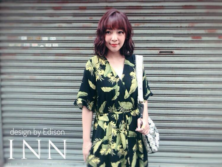 髮型創作/Inn Hair Salon - Edison。圖/HairMap美髮...