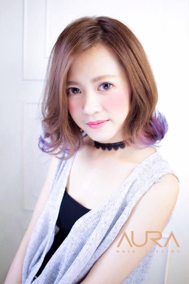髮型創作/AURA Hair Styling - Aura Mika。圖/Hai...