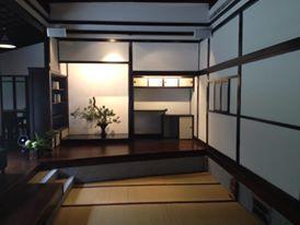 27號建物座敷(左:書院,中:床之間,右:床脇)。(圖/國立台灣文學館)