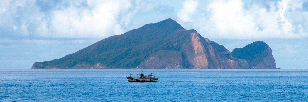 宜蘭頭城沿岸可以看到龜山島。圖/報系資料照