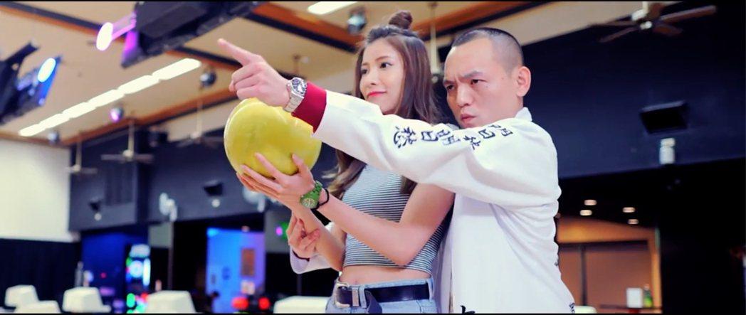 玖壹壹「派對俠」MV極盡搞笑。圖/混血兒娛樂提供