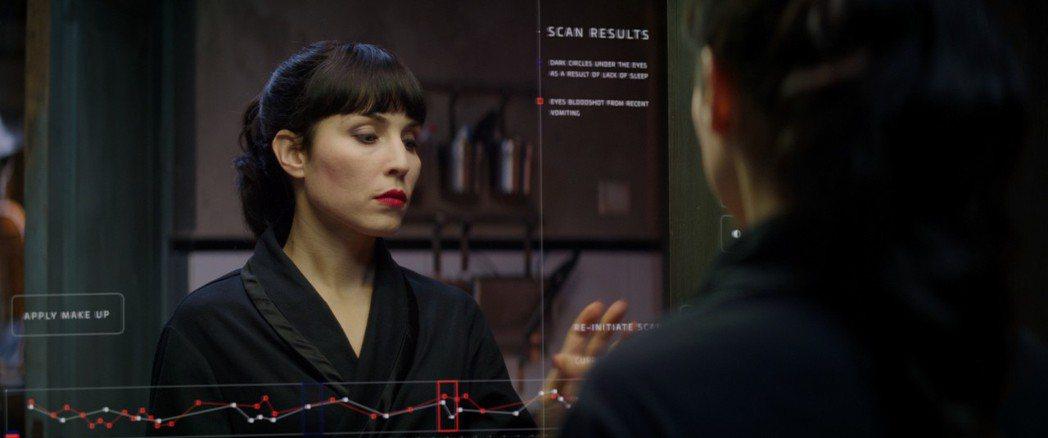 「獵殺星期一」女主角一人分飾七姊妹。圖/甲上提供