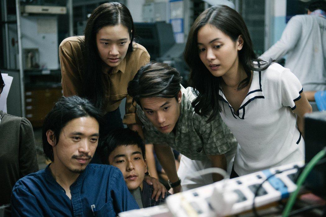 「模犯生」在台票房破億,打破泰國電影在台紀錄。圖/CATCHPLAY提供