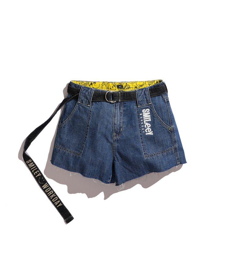 Lee Smiley Workday系列短裙,約2,280元。圖/Lee提供