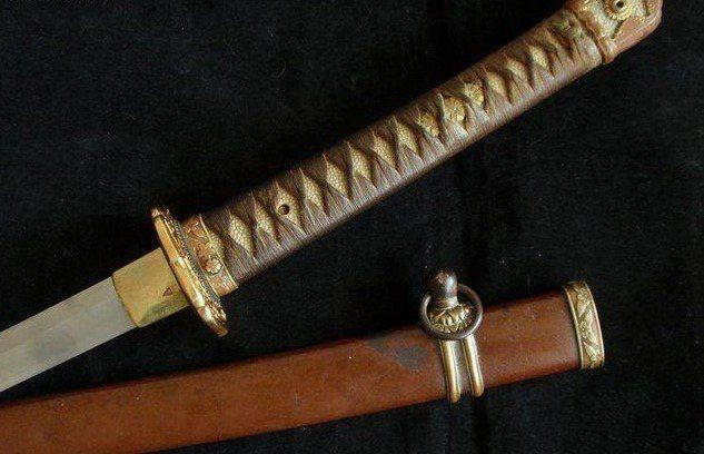 九八式軍刀。 圖/取自網路